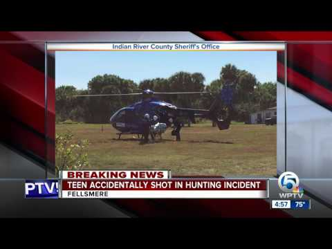 Teen Accidentally Shot In Hunting Incident