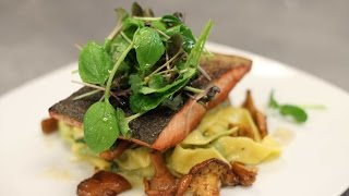 Herb Pasta With Salmon By Tory Martindale