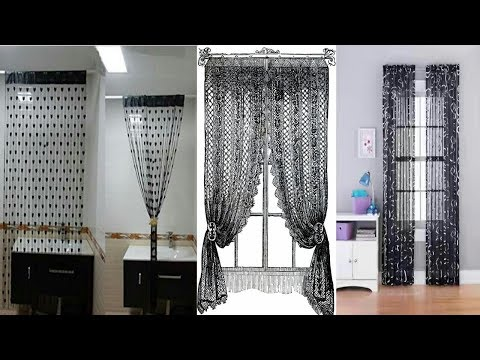 Very beautifully Black Curtains designs for 2018