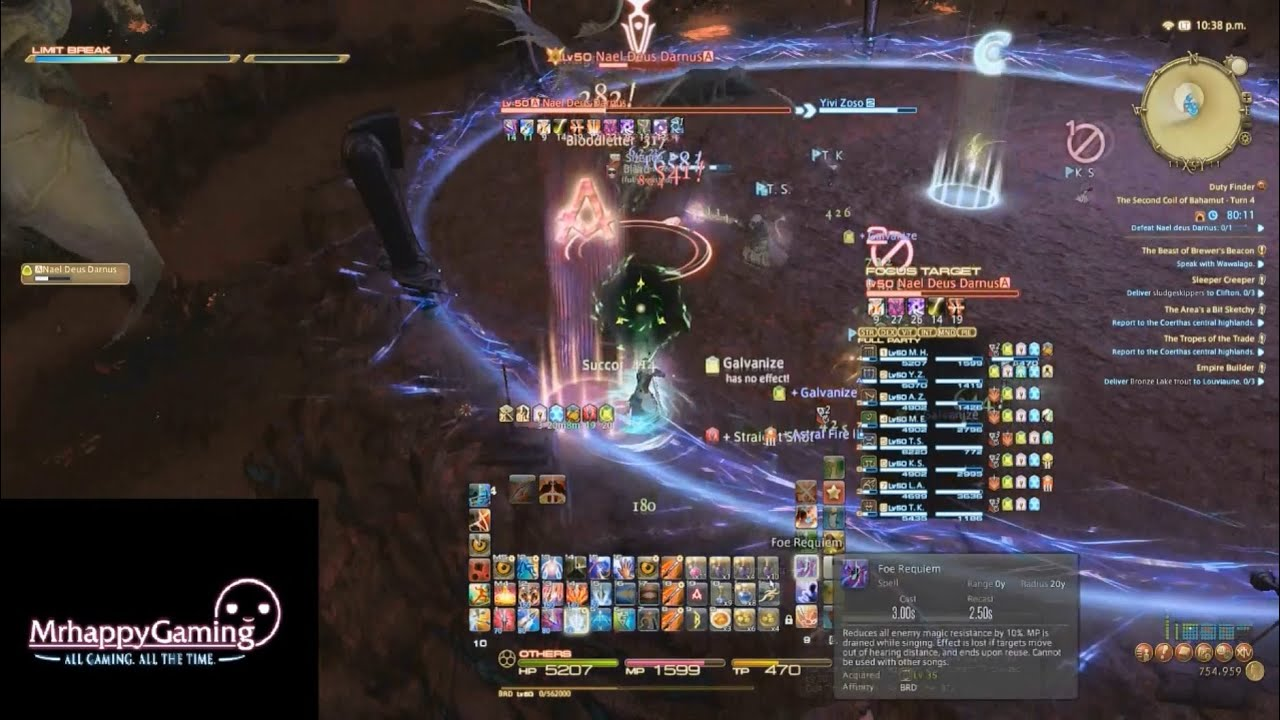 FFXIV ARR: Binding Coil Turn 9 (SCoB Turn 4) How to 100% Dodge Divebombs