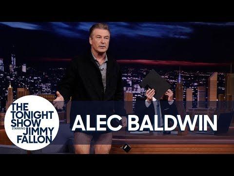 Ric Rush - Alec Baldwin Drops His Pants On The Tonight Show