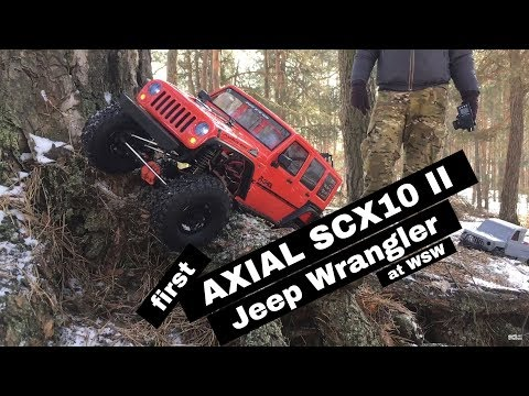 Axial SCX10 II Jeep Wrangler at WSW in Sękocin forest   RC Nennox