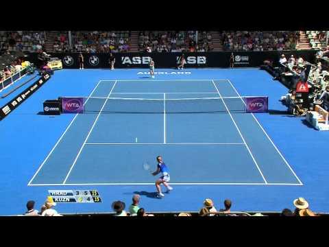 2015 Auckland R1 - Lucie Hradecka vs. Svetlana Kuznetsova