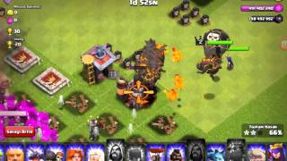 Clash of clans FHX-X hileli server