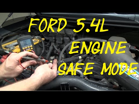 Ford 5.4L failsafe mode multiple codes Real time troubleshooting