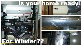 Simple Furnace Clean & Check - Save Repairs and Save Money