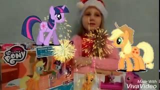 Май Литл Пони Игрушки Эпл Джек Твайлайт Спайк My Little Pony