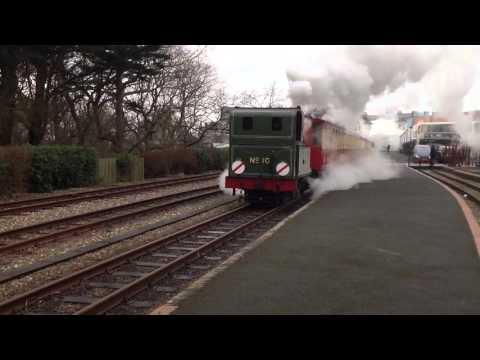 Mixed train at Isle of Man Railways Rush Hour event