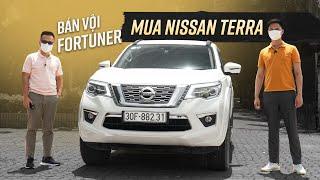 """""""Bán vội"""" Fortuner sau 3 tuần, mua Nissan Terra vững chãi nhưng nhiều cái thiếu khó hiểu"""