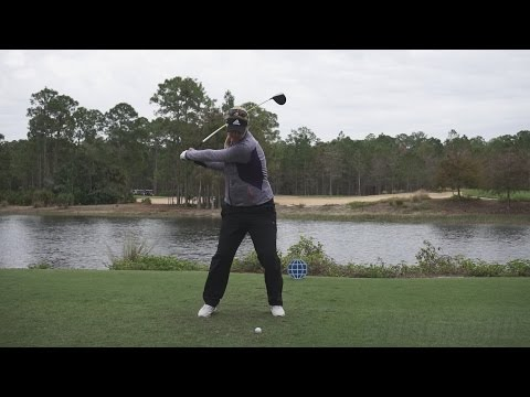 ANNA NORDQVIST - FACE ON DRIVER SWING REG & SLOW MOTION TIBURON GOLF COURSE 2014 CME 1080p HD