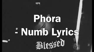 Phora Numb LYRICS