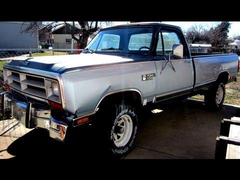 [CSDW_4250]   1986 Dodge Power Ram W150 - YouTube   1984 Dodge 150 Wiring      YouTube