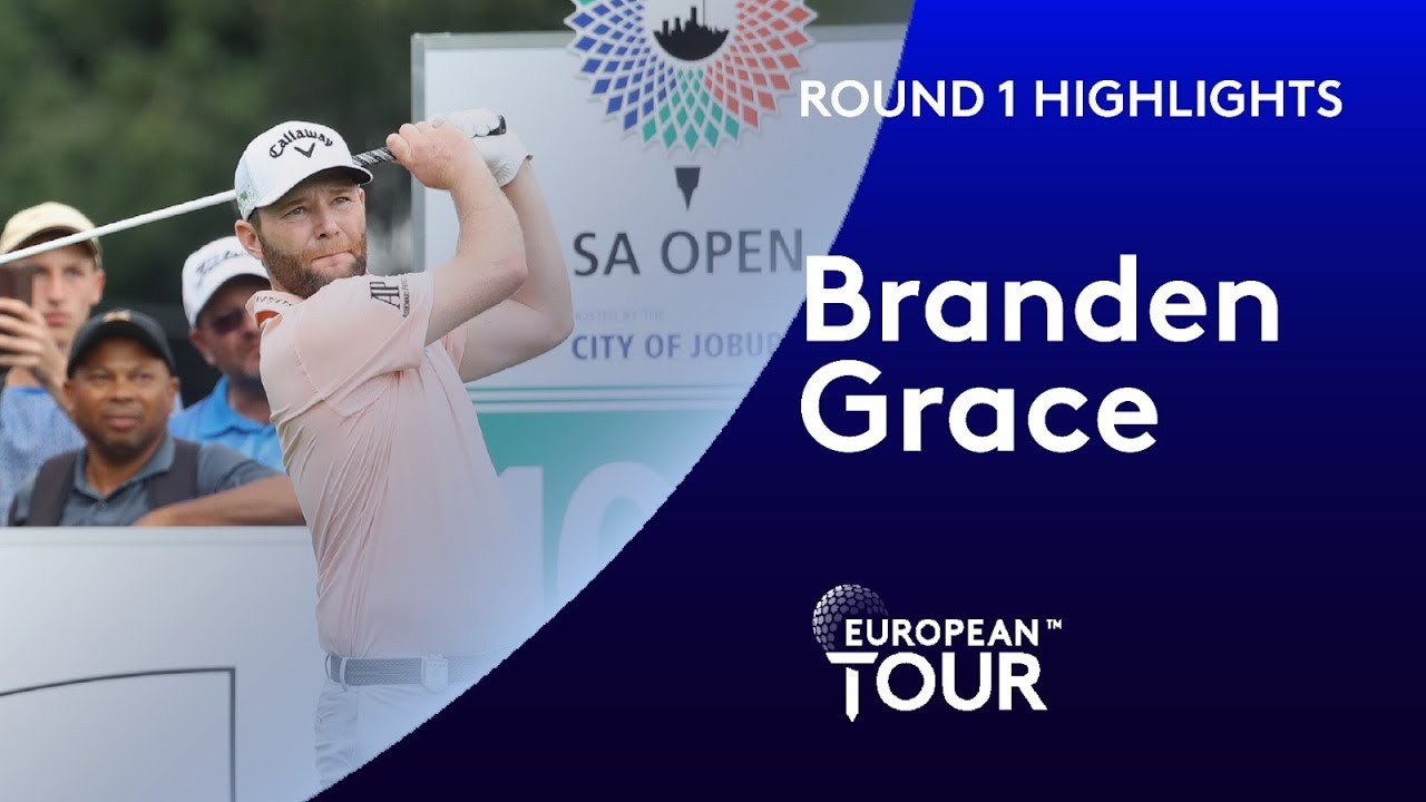 Branden Grace shoots bogey-free 64 | Round 1 | South African Open