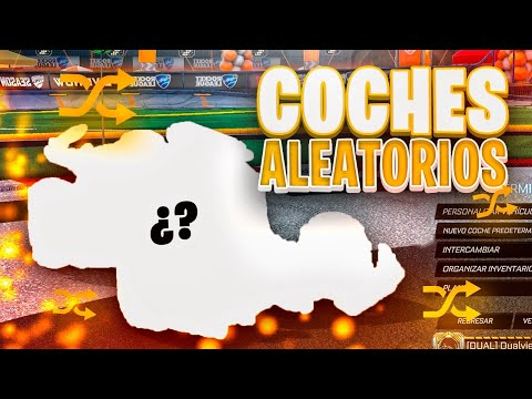 JUGANDO COMPETITIVO CON UN *COCHE ALEATORIO* 🔁 ¿QUÉ SALE? | ROCKET LEAGUE