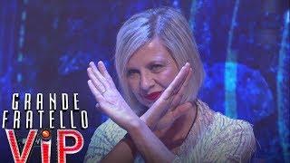Grande Fratello VIP - La reazione di Antonella Elia alla scelta di Aristide