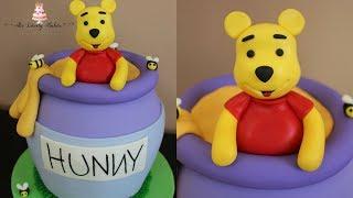 Winnie The Pooh Honey Pot Cake Tutorial!