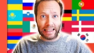 TRYING TO SPEAK 48 DIFFERENT LANGUAGES - Language Challenge