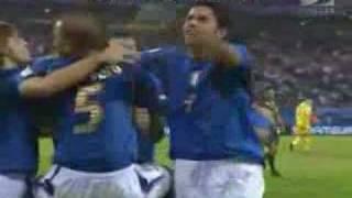 Goles Italia - Ucrania
