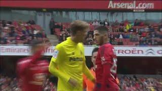 Yassine Benzia - Olympique Lyonnais vs Villarreal