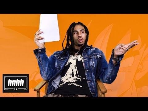 Robb Banks Rates Anime Rap Lyrics From Childish Gambino, Logic & More (HNHH Interview 2018)