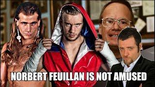 Norbert Feuillan is Not Amused - De Shawn Michaels à Will Ospreay (Dive II)