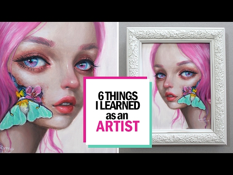 6 THINGS I LEARNED AS A SELF-EMPLOYED ARTIST || 30 Days of Art Episode 29