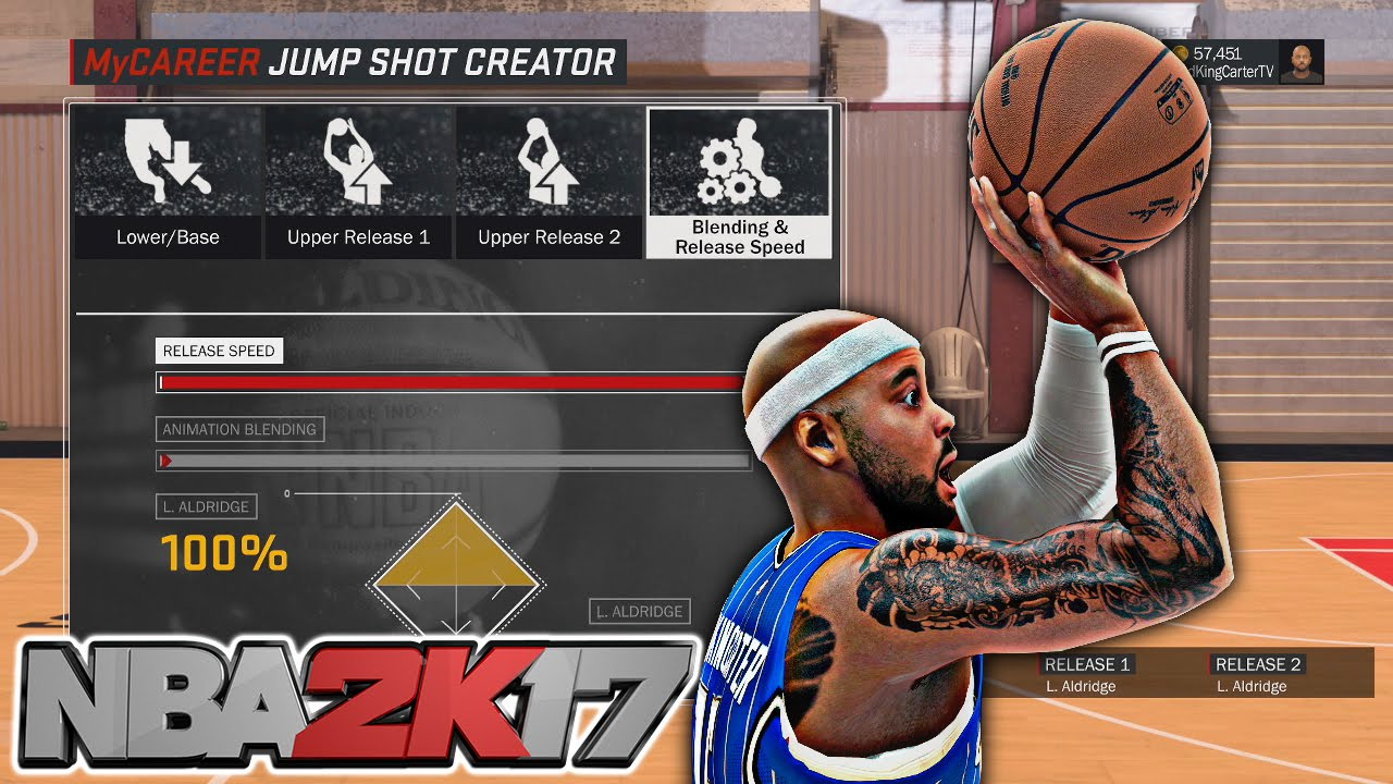 how to shoot in nba2k17