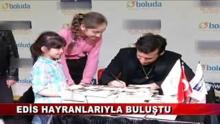 EDİS HAYRANLARINI COŞTURDU  (13.03.2016 - BOLU)