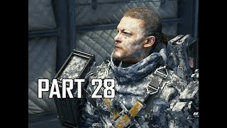 DEATH STRANDING Walkthrough Part 28 - Frozen (PS4 Pro)