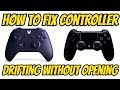 How To Fix Controller Drifting Without Opening