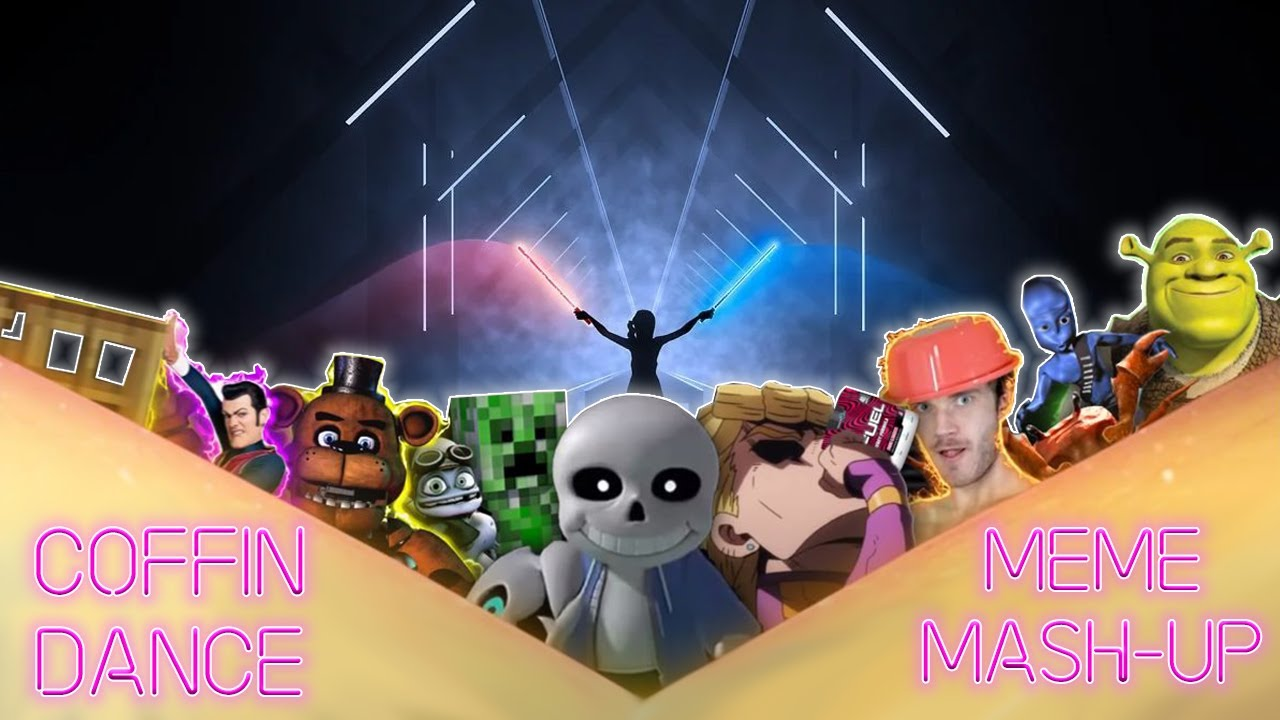 Coffin Dance MEME MASH-UP (FC) - Beat Saber - Magentium ...