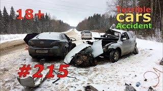 (18+)Смертельные аварии и ДТП. Жесть 2019 #215 / Car Crash 2019 #215