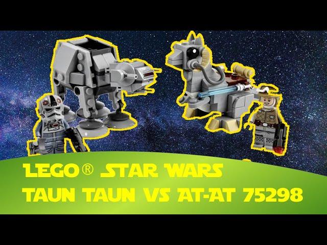 Lego Star Wars Taun Taun vs  AT AT Microfighter (75298) - Neue Luke Skywalker Minifigur