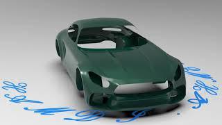 Automotive Car Body structure Mercedes AMG GT R