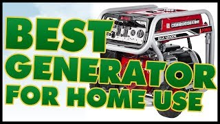 5 Best Generator For Home Use Reviews 2017