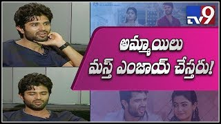 Vijay Devarakonda on Geetha Govindam || Independence Day Special - TV9 Exclusive
