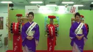 旅フェア日本2013 11月10日 さんさ踊り1回目 パート1