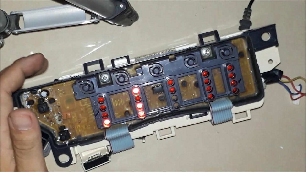 Máy Giặt Toshiba AW-A800 Không lên Nguồn Và Cách sửa