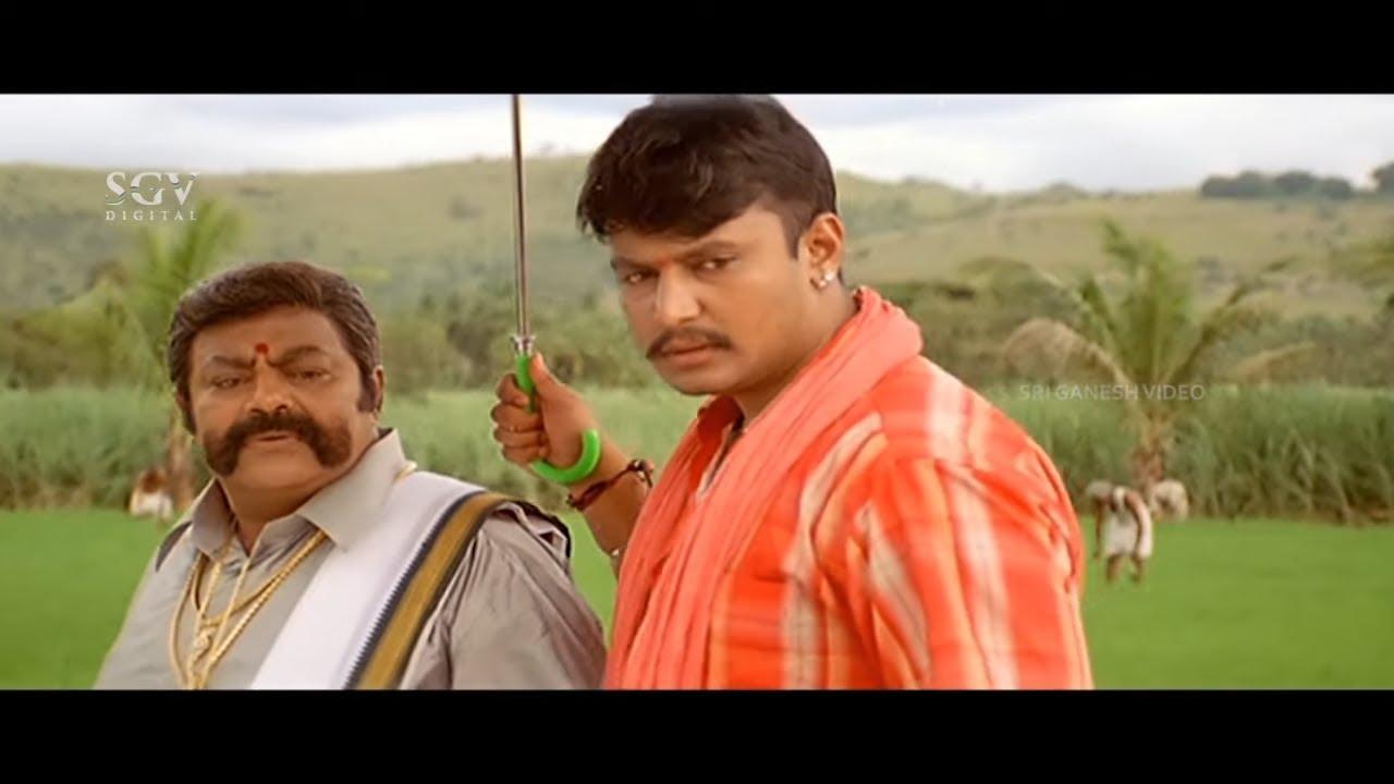 Darshan Emotional On Srinivas Murthy | Best Scene of Sardara Kannada Movie
