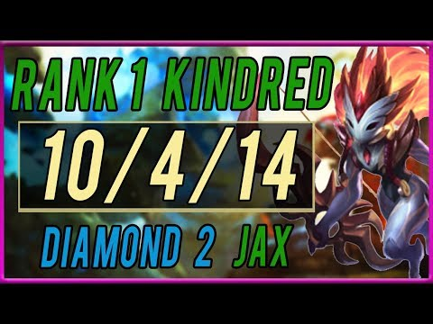 Challenger Kindred Jungle vs Jax  (Forest Within Kindred) - League of Legends thumbnail