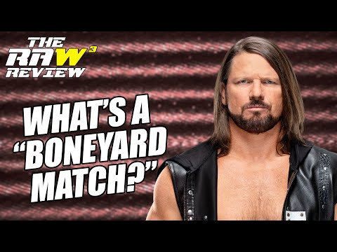 AJ Styles & Undertaker in a ... Boneyard Match? | The Raw Review (March 23, 2020)