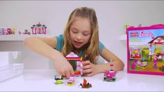 Building With Emma - Glam Cabin By Mega Bloks Barbie