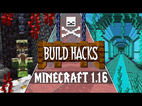 NEW Minecraft 1.16 Nether Update Build Tips \u0026 Ideas!