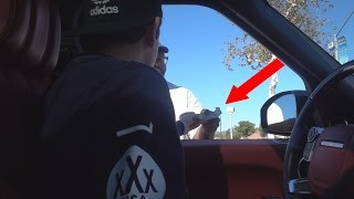 MAKING A HOMELESS MANS DAY!!