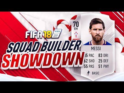 🔥 THE SILVER MESSI SQUAD BUILDER SHOWDOWN!!! FIFA 18 ULTIMATE TEAM