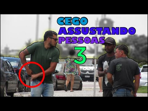 CEGO ASSUSTANDO PESSOAS