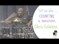 Download Drummer Chris Coleman explains the importance of counting MP3 song and Music Video