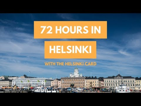 How To Spend 72 Hours in Helsinki with the HELSINKI CARD | A