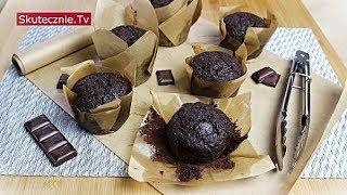 Najlepsze muffiny czekoladowe z czekoladą (king size) :: Skutecznie.Tv [HD]