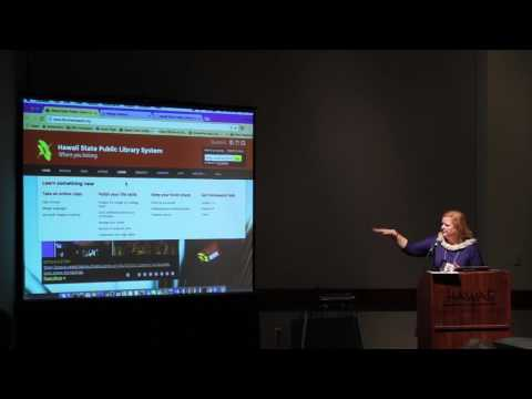 Stacey Aldrich, State Librarian - Innovation at State Library System